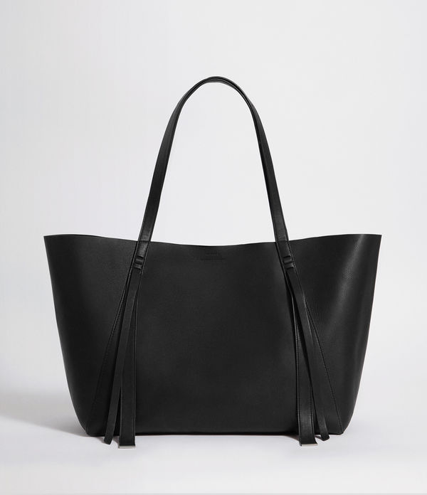 Vincent Leather East West Tote