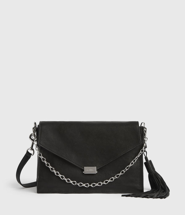 Miki Leather Shoulder Bag
