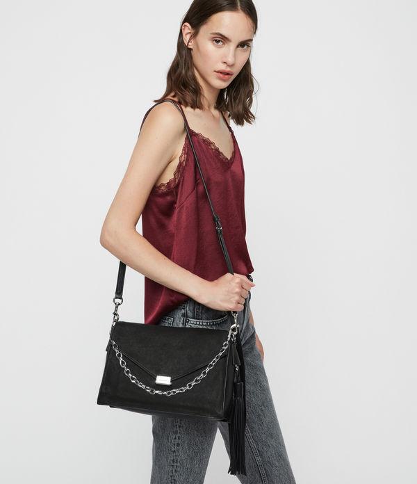 Miki Leather Shoulder Bag