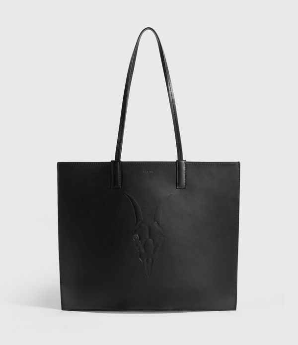 Margate North South Leather Tote Bag