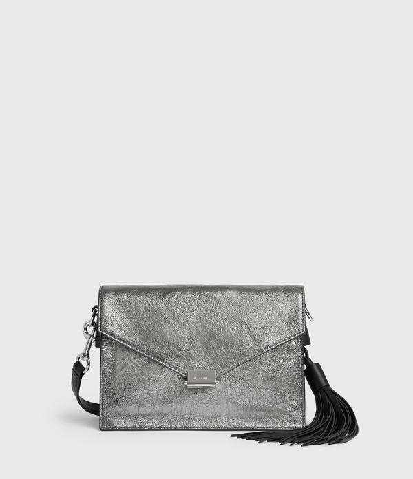 Miki Lea Leather Crossbody Bag