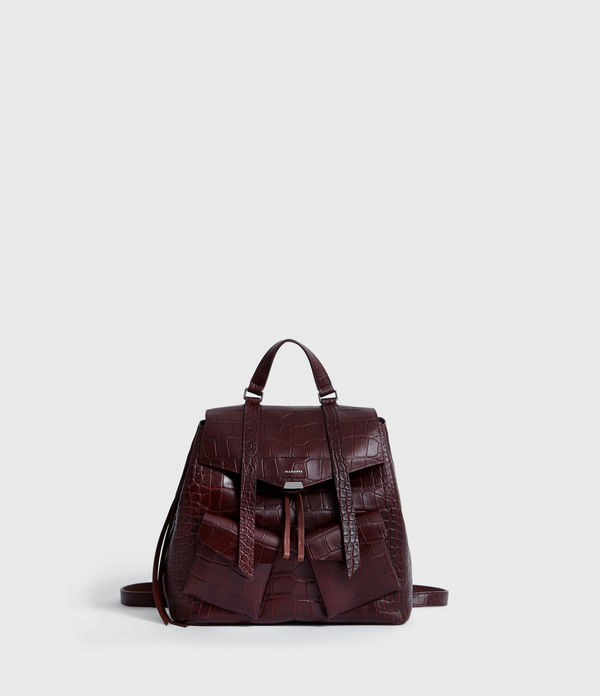 Polly Mini Leather Backpack