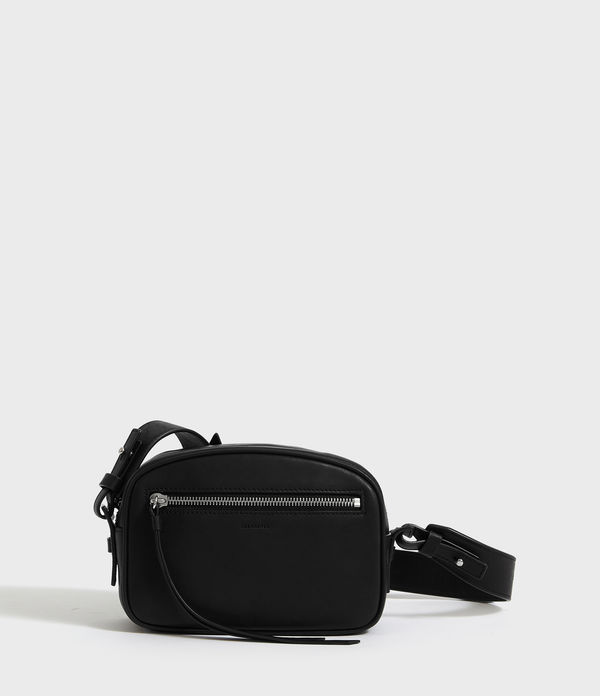 captain leather bumbag crossbody bag