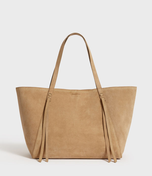 Ziggy Eat West Suede Tote Bag
