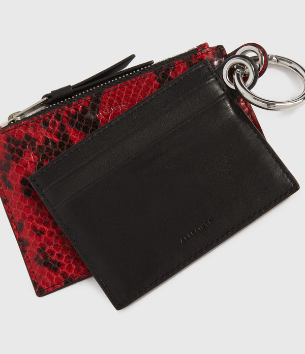 Hocker Leather 2-in-1 Key Fob