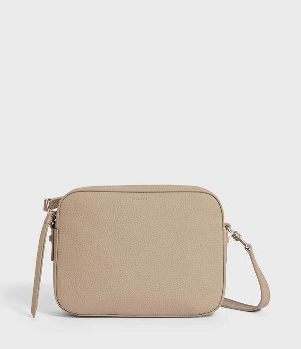 Captain Leather Lea Square Crossbody Bag