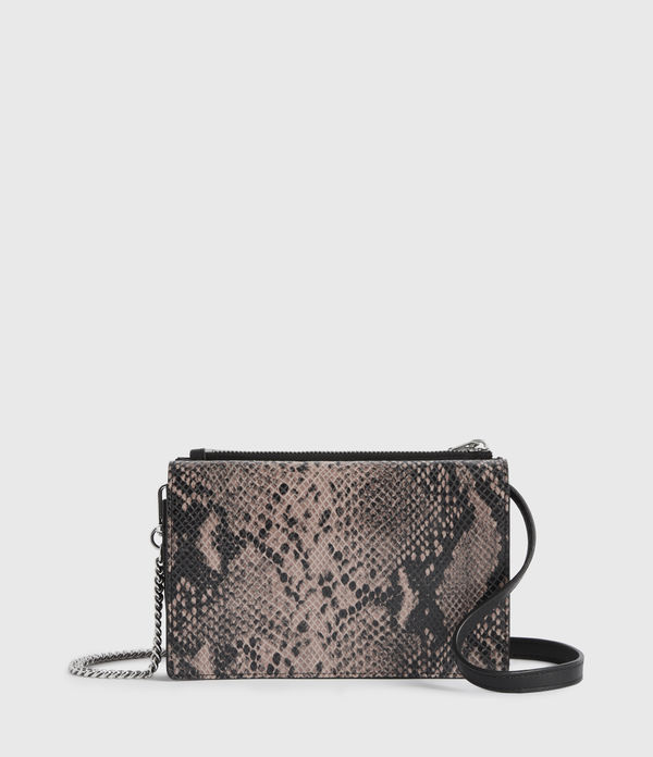 Fetch Chain Leather Crossbody Bag