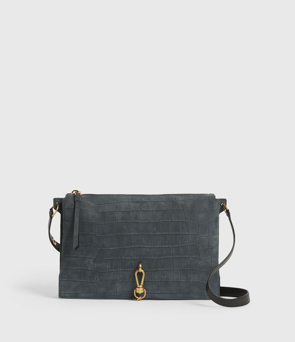 Sheringham Suede Shoulder Bag