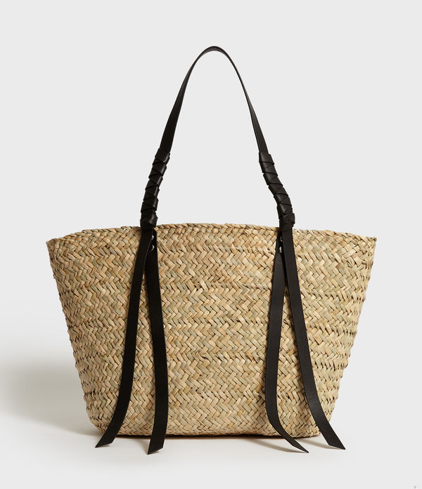 Bolsa Tote en Fibra de Lino Beach East West