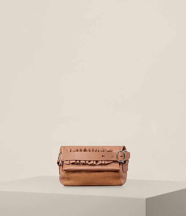 Maya Leather Soft Clutch