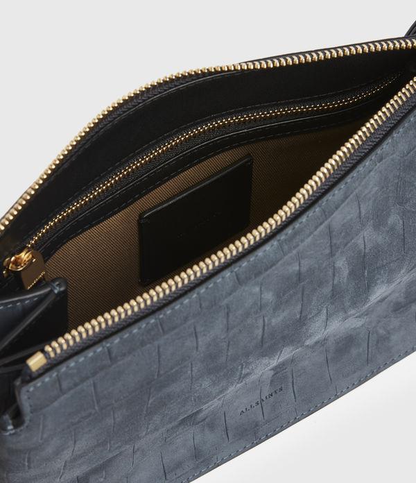 Fletcher Suede Crossbody Bag