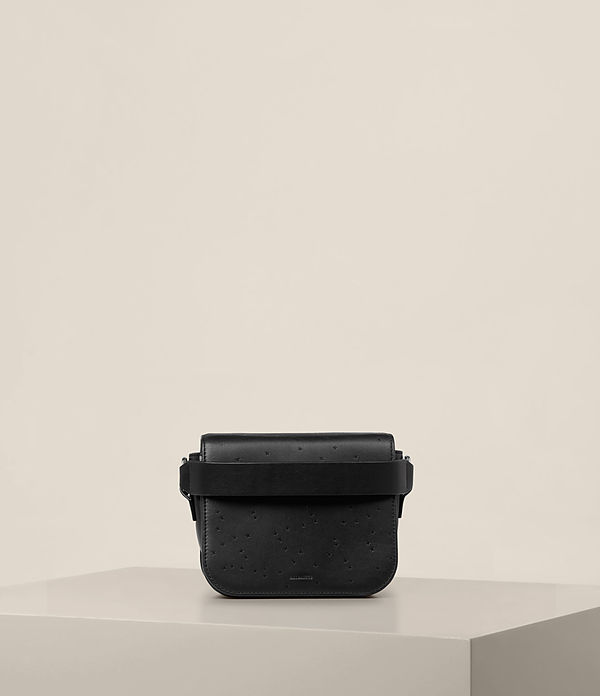 echo leather clutch bag