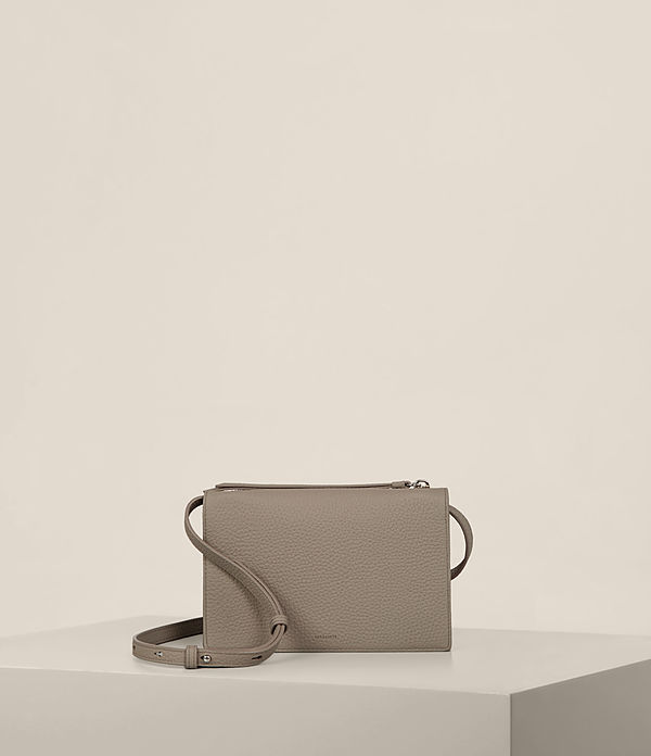Fetch Leather Wallet Crossbody