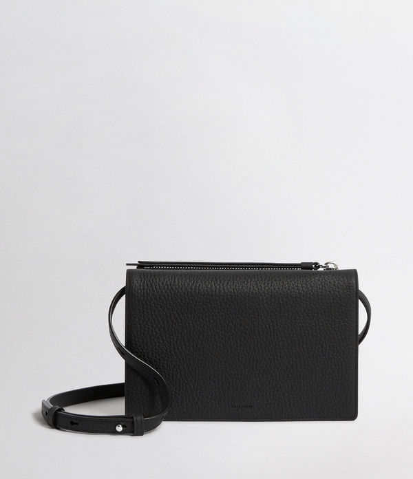 Fetch Leather Wallet Crossbody Bag