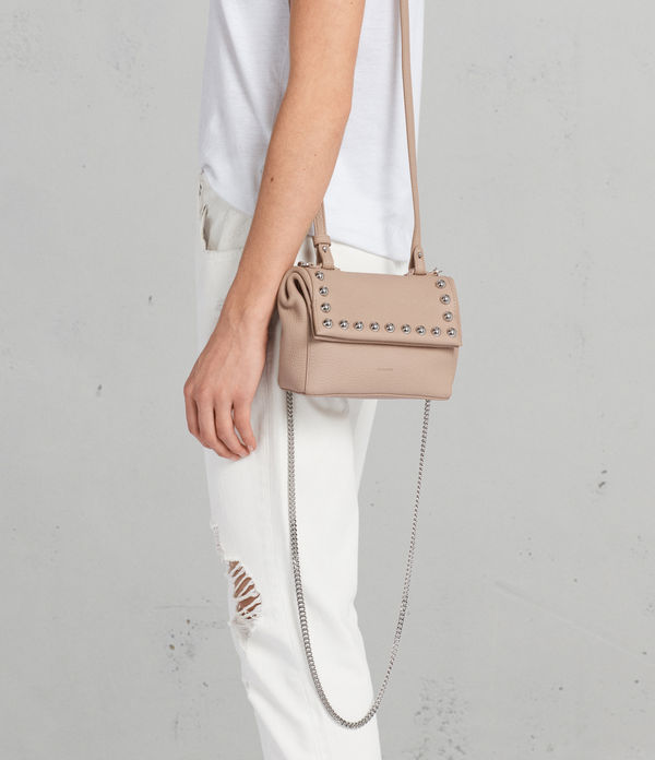 Cami Leather Mini Crossbody