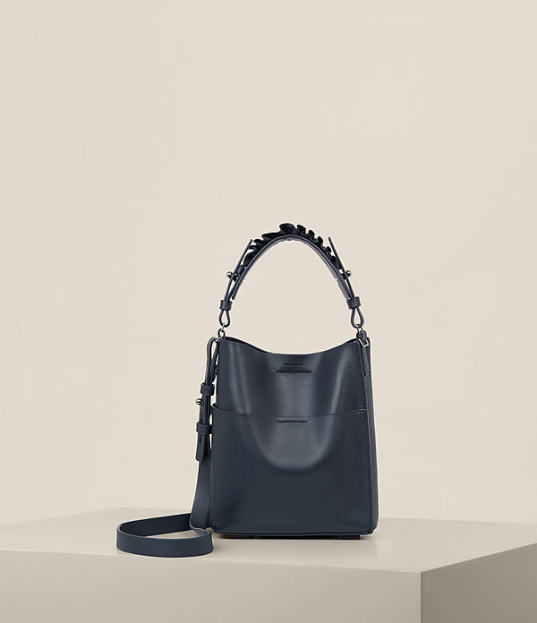 Maya Leather Mini North South Tote