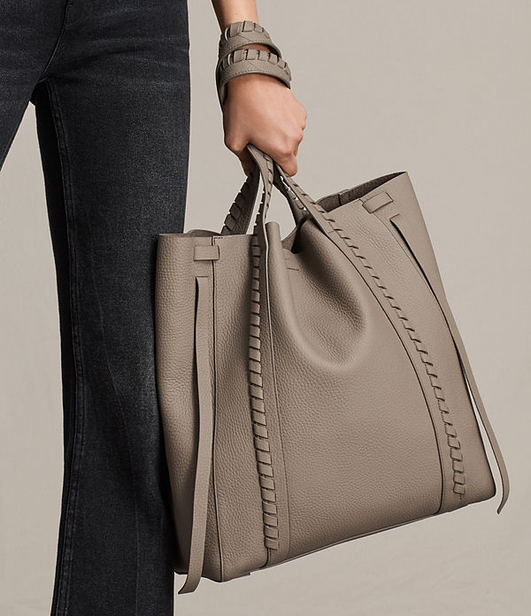 Ray North South Leather Tote