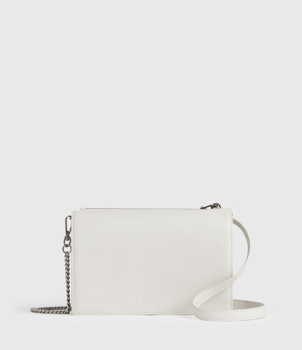Fetch Leather Chain Crossbody Bag