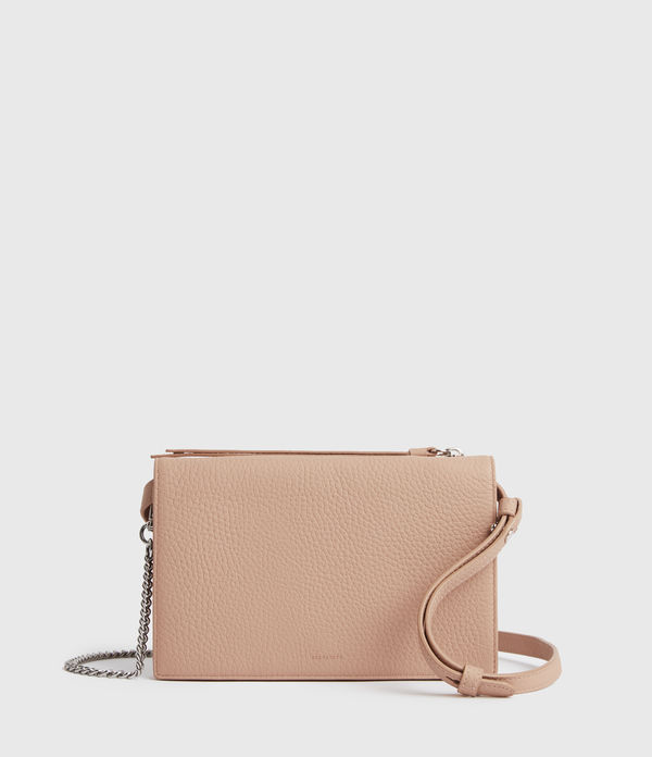 Bolso Monedero de Piel Fetch Chain