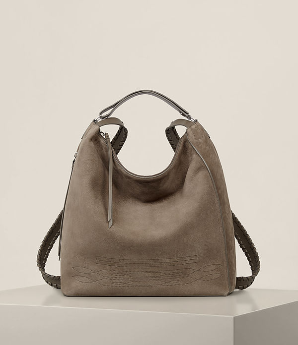 cooper leather large backpack