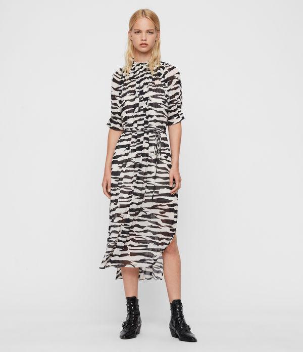 Xena Long Zephyr Dress