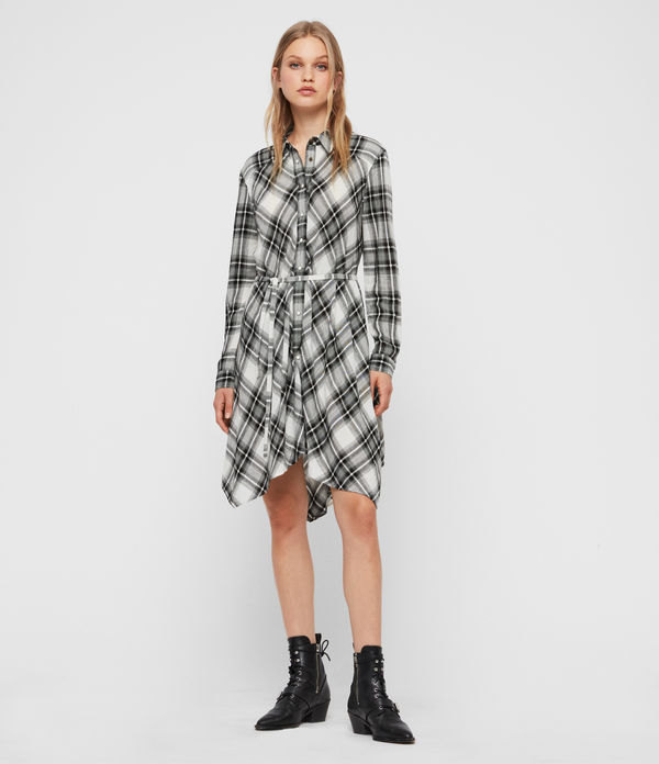 Tala Check Dress