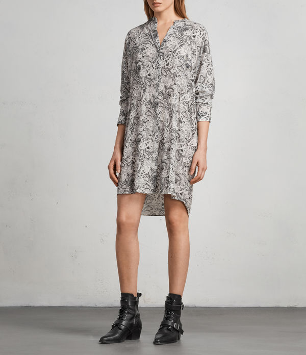 Cayla Paisley Shirt Dress
