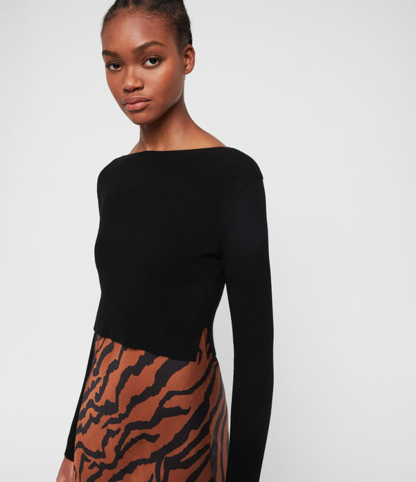 Hera Zephyr Dress