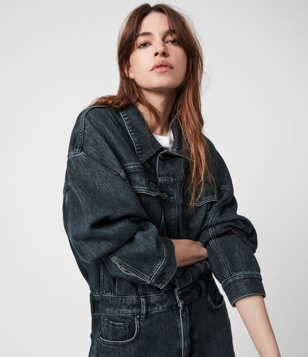 dakota denim dress