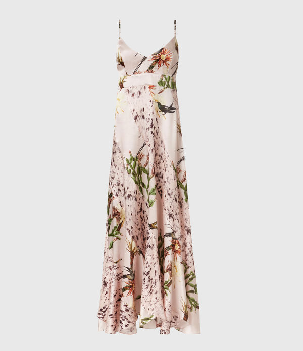 Niya Nolina Silk Blend Dress