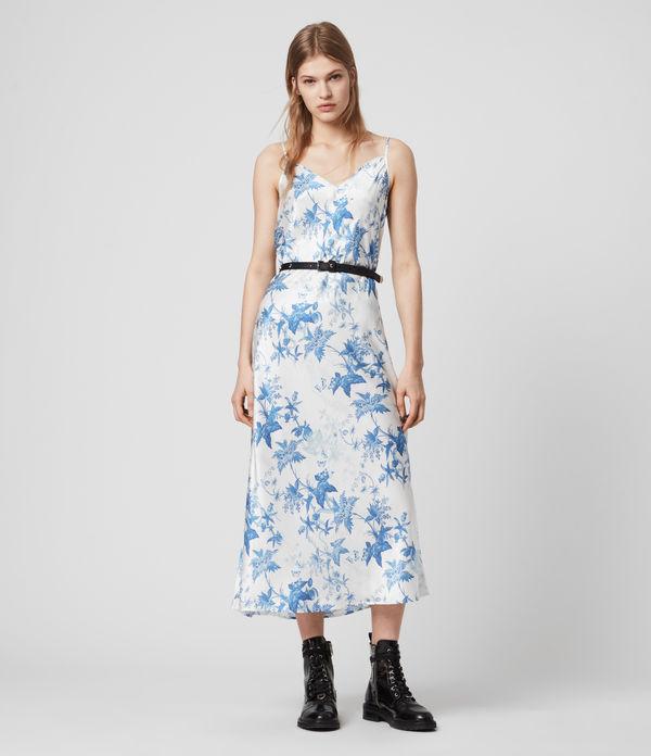 Tierney Silk Blend Evolution Slip Dress