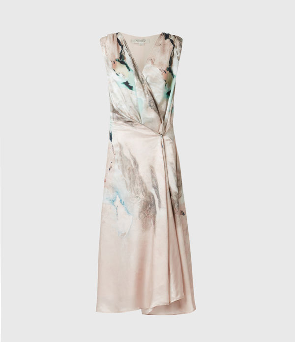 Diari Cassus Silk Blend Dress