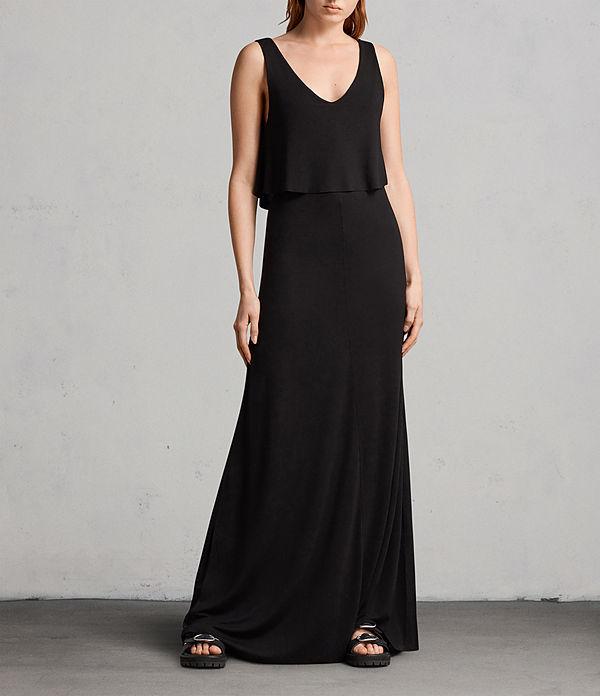 Terra & Sky Women's Plus Size Sleeveless Knit Dress