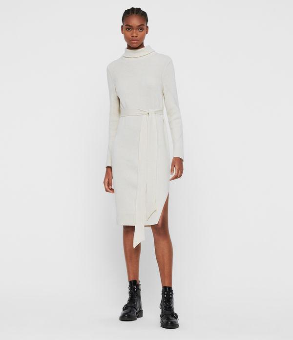 Roza Cashmere Blend Jumper Dress