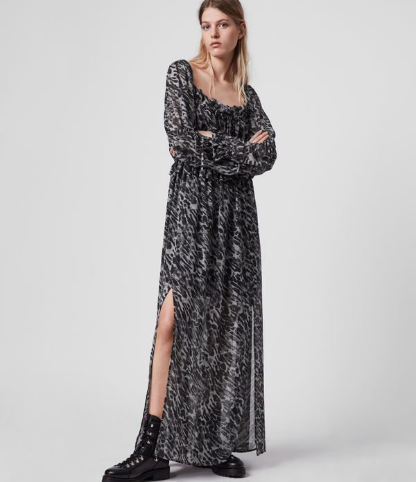 Robe Longue Léopard Kimi Ambient