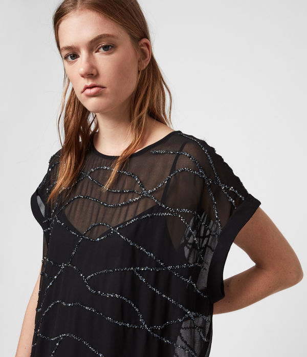 Loran Embellished Dress