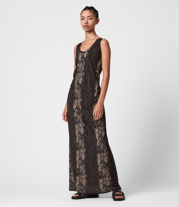 Ami Masala Maxi Dress