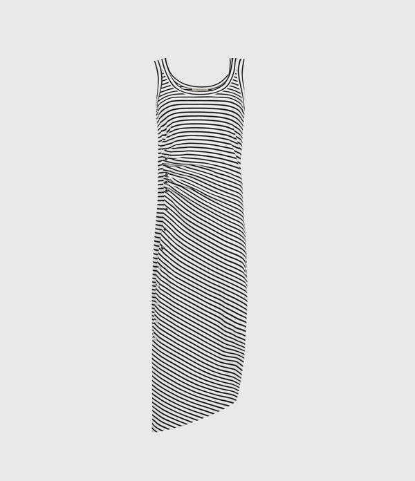 Hatti Sleeveless Stripe Dres