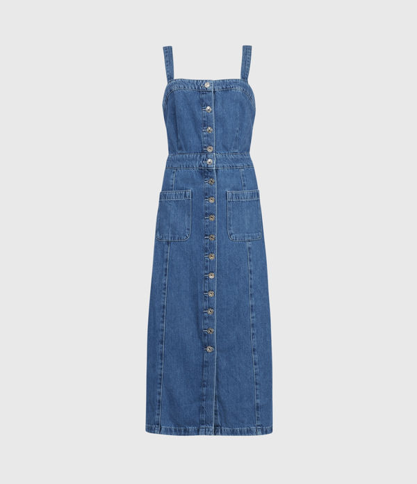 elsie denim dress