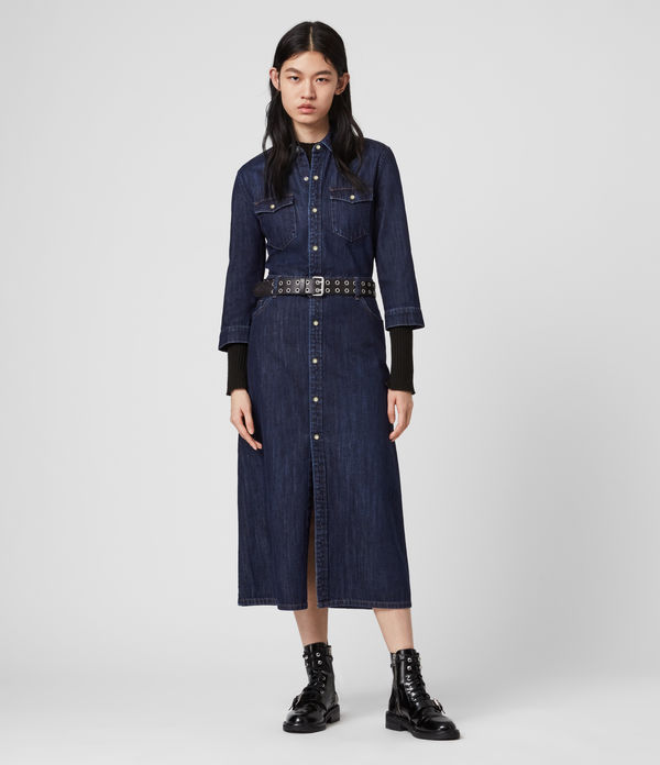 Polly Denim Dress