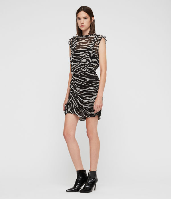 Hali Tiger Dress