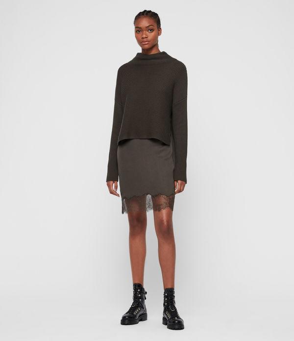 Eloise Funnel Neck Dress