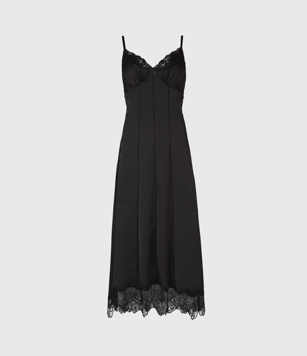 AllSaints Lalita Slip Dress