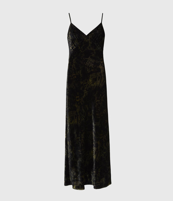 AllSaints Kelsie Peace 2-In-1 Dress