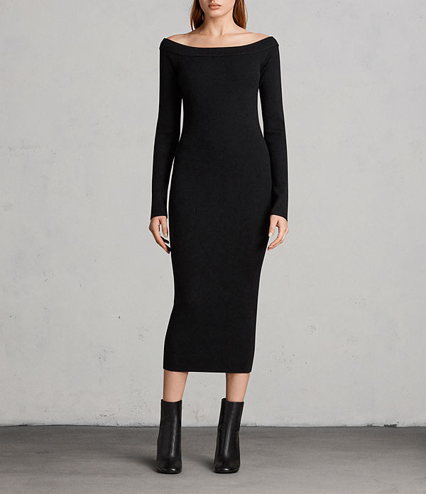 lavine long sleeve dress