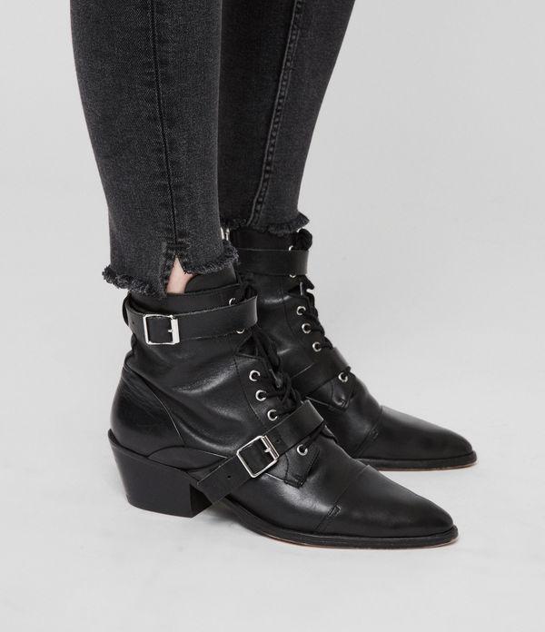 Grace Ankle Fray Skinny Jeans