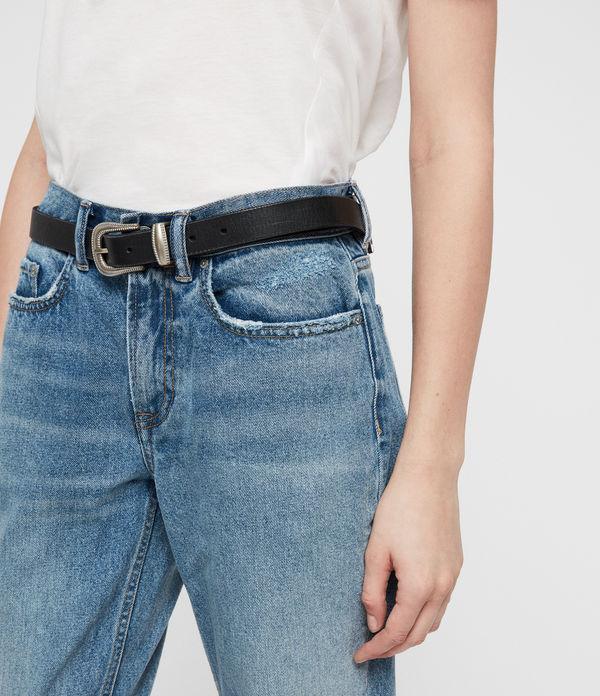 Boys Frayed Ty Jeans