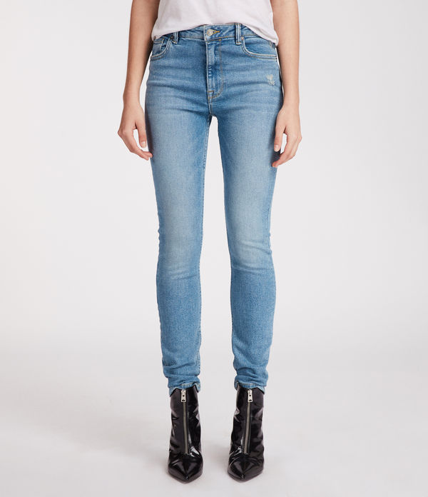 Stilt Vintage High Waisted Skinny Jeans