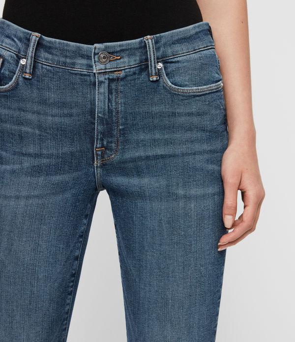 Grace Mid-Rise Skinny Jeans, Vintage Indigo Blue