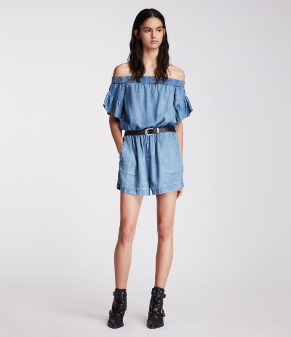 Adela Chambray Playsuit